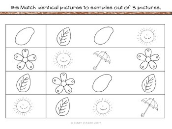 Units for Early Learners with Autism: Plants