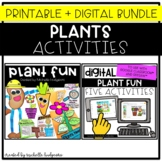 Plants Activities Digital and Printable Sets, Parts of a P