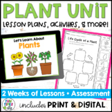 Plants {An Integrated Science Unit for First Grade}