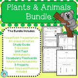 Plants & Animals Bundle – All About Organisms – Upper Elem