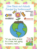 Plants & Animals Change the Environment K ESS2-2 CCSS (Editable)