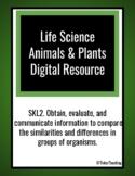 Plants & Animals Digital Resource-Google Classroom