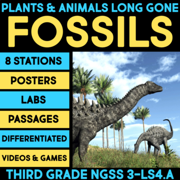 Plants & Animals Long Gone Science Stations