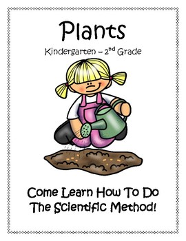 Plants Around Us Lapbook for Kindergarten Through Second Grade