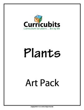 Plants Art Bundle | Themed Scripted Afterschool Activities