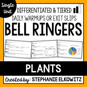 Plants Bell Ringers