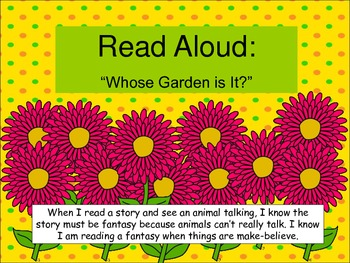 Plants Can't Jump Storytown Lesson 9