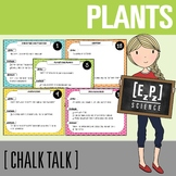 Plants Science Task Cards - Chalk Talk Art in Science