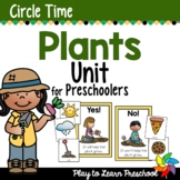 Plants Circle Time Unit