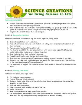 Plants Class k-4th grade