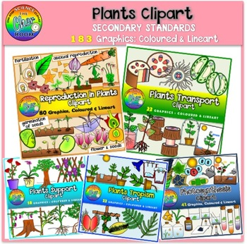 Plants Clipart (Secondary Standards)