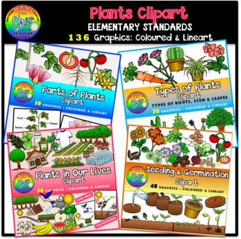 Plants Clipart [MEGA BUNDLE]
