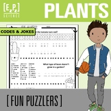 Plants Codes and Jokes Science Fun Puzzler