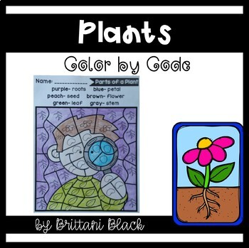 Plants~ Color by Code
