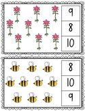 Plants Count and Clip (large cards) 1-10 & 11-20