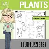 Plants Crossword Science Fun Puzzler