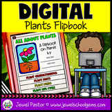 Plants DIGITAL Flipbook (Google Classroom Distance Learnin