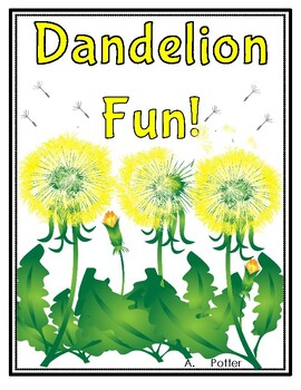 Plants-Dandelion's Life Cycle Reproducible Book and Literacy Centers