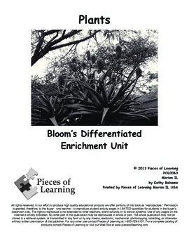 Plants - Differentiated Blooms Enrichment Unit