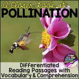 Plants: Differentiated Pollination Reading Passage, Vocabu
