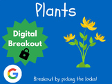 Plants - Digital Breakout! (Escape Room, Brain Break, Life Cycle, Parts)