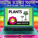 Plants Digital Science Toothy ® Task Cards | Distance Lear