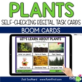 Plants- Digital Task Cards | Boom Cards | Distance Learning