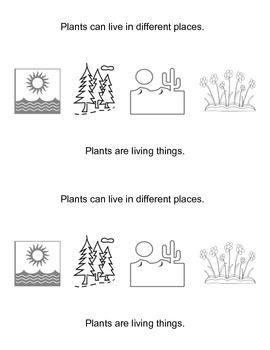 Plants--EMERGENT READER