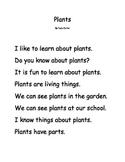 Plants Early Reader