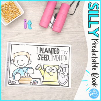 Plants - Emergent Reader - Leveled Mini-book PreK, Kindergarten, Preschool