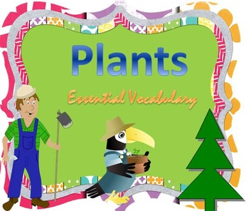 Plants Essential Vocabulary Through Fun Activities
