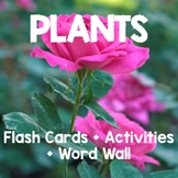 Plants FLASH CARDS + WORD WALL