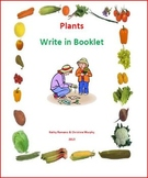 Plants Fill In Activity Booklet