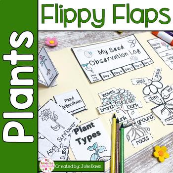 Plants Activities Interactive Notebook Lapbook