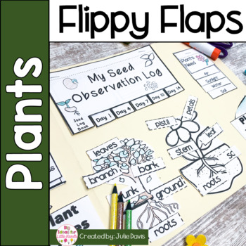 Plants Flippy Flaps Interactive Notebook Lapbook