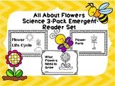 Plants: Flower Emergent Reader 3-Pack