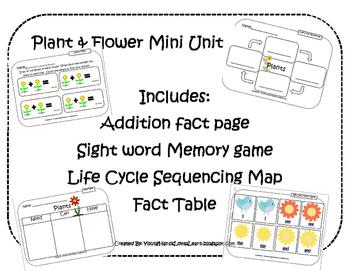 Plants & Flowers Mini Unit