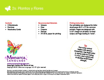 Plants & Flowers Spanish Lesson (2s) - Plantas y Flores