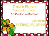 Plants & Flowers, Spring Growing -  5-10 Subtraction Dry E