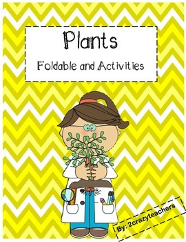 Plants Foldable and Activities