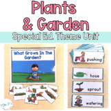 Plants & Garden Thematic Unit For Special Education (Autism Resource)