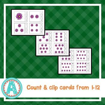 Plants & Gardening Count & Clip