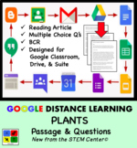 Plants Google Doc - Article & Questions - Distance Learning Friendly