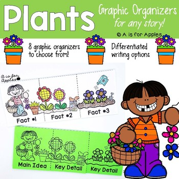 Plants Graphic Organizers {For Any Story!}