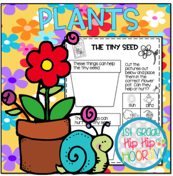 "Plants . . . ""Growing"" our knowledge of plants with a craft and activities!"