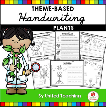 Plants Handwriting Lessons (Manuscript Edition)