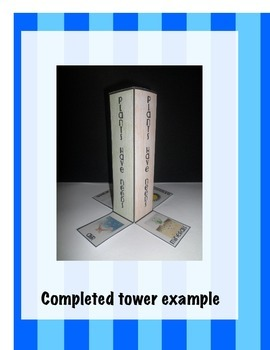 Plants Have Needs Science Interactive Tower Foldable