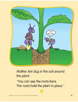 Plants Have Parts: Circle-Time Story
