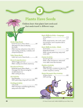 Plants Have Seeds: Art and Cooking Activities