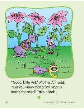 Plants Have Seeds: Circle-Time Book